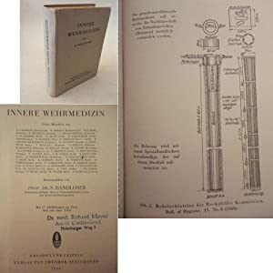 Innere Wehrmedizin. Mit 17 Abbildungen im Text und auf einer Tafel: Handloser, Siegfried (...