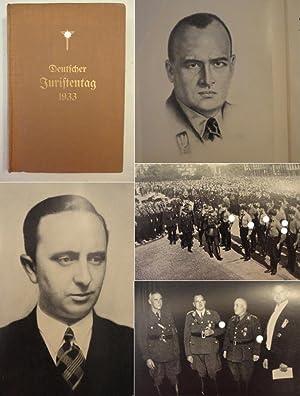 Deutscher Juristentag 1933 / 4.Reichstagung des Bundes Nationalsozialistischer Deutscher ...