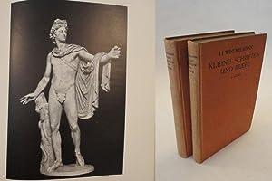 Kleine Schriften und Briefe, herausgegeben von Hermann Uhde-Bernays * Band I: Kleine Schriften zur ...
