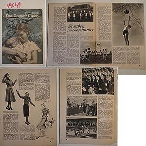 Das Deutsche Mädel Maiheft Jahrgang 1939 Ausgabe Sachsen Die Zeitschrift des Bundes Deutscher ...