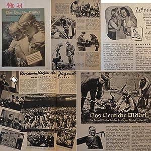 Das Deutsche Mädel Maiheft Jahrgang 1940 Die Zeitschrift des Bundes Deutscher Mädel in ...