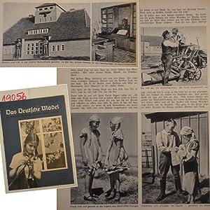 Das Deutsche Mädel Maiheft Jahrgang 1938 Ausgabe Niedersachsen Die Zeitschrift des Bundes ...