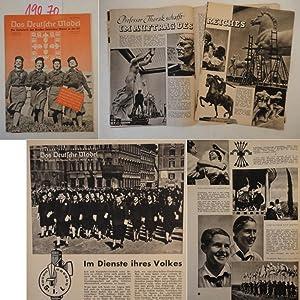 Das Deutsche Mädel Februarheft Jahrgang 1941 Die Zeitschrift des Bundes Deutscher Mädel in der HJ