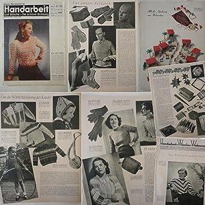 Beyers Monatsblatt für Handarbeit und Wäsche / Die schöne Wohnung. Heft 11&#x2F...