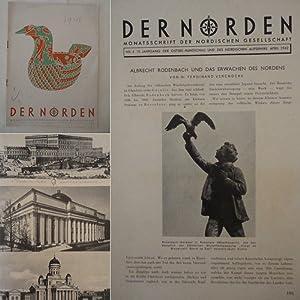 Der Norden. Monatsschrift der Nordischen Gesellschaft. Nr.4 April 1942, 19.Jahrgang: Nordische ...