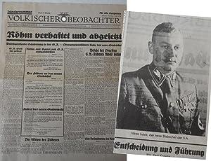Völkischer Beobachter. Kampfblatt der national-sozialistischen Bewegung Großdeutschlands...