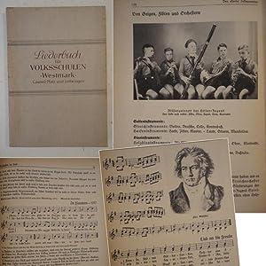Liederbuch für Volksschulen Westmark, Gauteil Pfalz und Lothringen. Der zweite Teil: Singfibel...