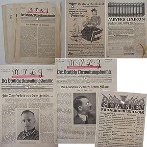 Der Deutsche Verwaltungsbeamte. Nationalsozialistische Beamten-Zeitung * 9.Jahrgang 1940 (ohne die ...