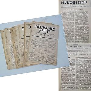 Deutsches Recht, Zentralorgan des NS.-Rechtswahrerbundes. 14.Jahrgang 1944, Hefte 1/3 - 49&#...