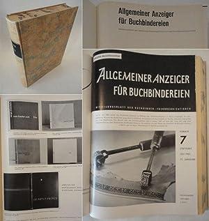 Allgemeiner Anzeiger für Buchbindereien / Mitteilungensblatt der deutschen ...