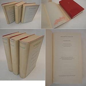 Friedrich Schiller. Ausgewählte Werke, herausgegeben und eingeleitet: Friedrich Schiller: