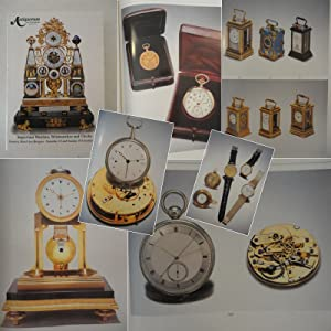 Important watches, wristwatches and clocks