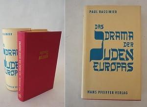 Das Drama der Juden Europas, Eine technische Studie * m i t S c h u t z u m s c h l a g: Paul ...