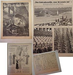 Deutscher Beamtenfreund. Familienzeitschrift mit Versicherung 21. Heft 1937 * m i t S c h n i t t m...