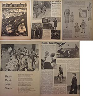 Deutscher Beamtenfreund. Familienzeitschrift mit Versicherung 18. Heft 1937