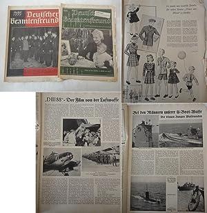 Deutscher Beamtenfreund. Familienzeitschrift mit Versicherung Heft 24 und 26 / 1939