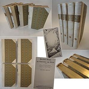 Goethes Briefe an Charlotte von Stein. Neue, vollständige Ausgabe auf Grund der Handschriften ...