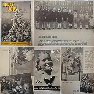 Neues Volk. Blätter des Rassenpolitischen Amtes der NSDAP. Heft 1, Januar 1937, 5.Jahrgang * ...