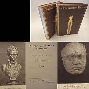 Die Erinnerungen an Beethoven. Gesammelt und herausgegeben von Friedrich Kerst * H A L B P E R G A ...