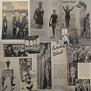 Neues Volk. Blätter des Rassenpolitischen Amtes der NSDAP. Heft 11, November 1936, 4.Jahrgang:...
