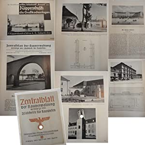 Zentralblatt der Bauverwaltung, vereinigt mit Zeitschrift für Bauwesen: Heft 14 vom 5. April ...