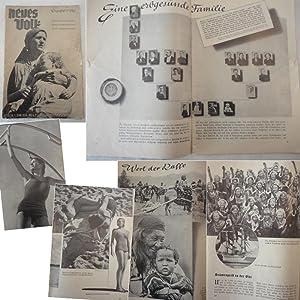 Neues Volk. Blätter des Rassenpolitischen Amtes der NSDAP. Heft 6, 1. Juni 1934, 2.Jahrgang: ...