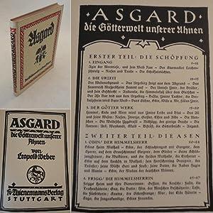Asgard die Götterwelt unserer Ahnen * m i t O r i g i n a l - S c h u t z u m s c h l a g: ...