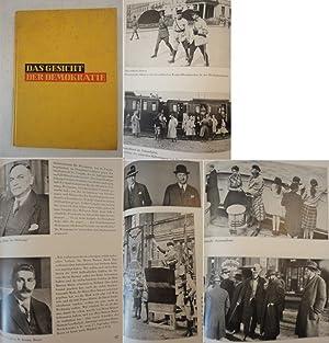 Das Gesicht der Demokratie. Ein Bilderwerk zur Geschichte der deutschen Nachkriegszeit, ...