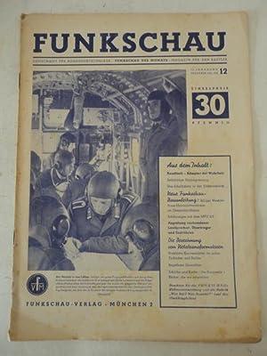 Funkschau. Zeitschrift für Funktechniker / Funkschau des Monats / Magazin für ...