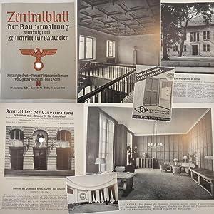 Zentralblatt der Bauverwaltung, vereinigt mit Zeitschrift für Bauwesen: Heft 3 vom 18. Januar ...