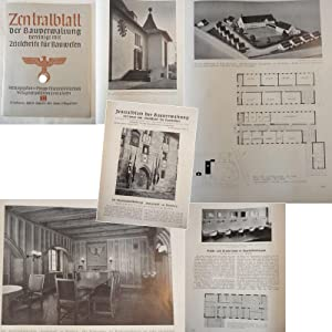 Zentralblatt der Bauverwaltung, vereinigt mit Zeitschrift für Bauwesen: Heft 32 vom 9. August ...