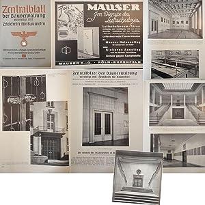 Zentralblatt der Bauverwaltung, vereinigt mit Zeitschrift für Bauwesen: Heft 37 vom 13. ...