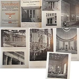 Zentralblatt der Bauverwaltung, vereinigt mit Zeitschrift für Bauwesen: Heft 40/41 vom 4....