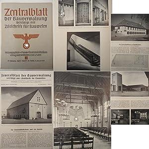 Zentralblatt der Bauverwaltung, vereinigt mit Zeitschrift für Bauwesen: Heft 2 vom 11. Januar ...
