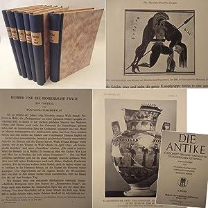 Die Antike. Zeitschrift für Kunst und Kultur des klassischen Altertums. Herausgegeben von ...