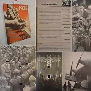 Kalender der Deutschen Arbeit 1935: Walter Schuhmann (Herausgeber):