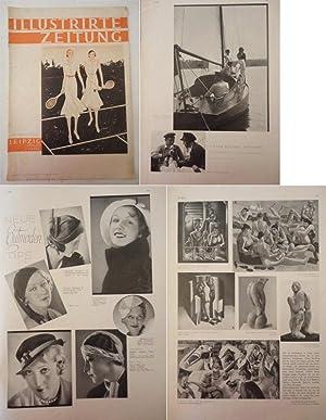 Illustrirte Zeitung Leipzig. Die Wochenschrift des Gebildeten Nr.4562 vom 18.August 1932: Weber, J....