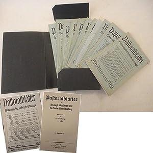 Pastoralblätter für Predigt, Seelsorge und kirchliche Unterweisung.: Erich Stange /