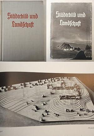 Städtebild und Landschaft * mit O r i g i n a l - S c h u t z u m s c h l a g: ...