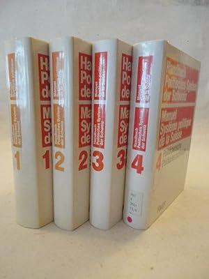 HANDBUCH POLITISCHES SYSTEM DER SCHWEIZ. 4 Bände (vollständig). 1. Band: Grundlagen (1983...
