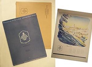 Kalender 1958 * mit O r i g i n a l - V e r s a n d u m s c h l a g: Bayerische Hypotheken- und ...