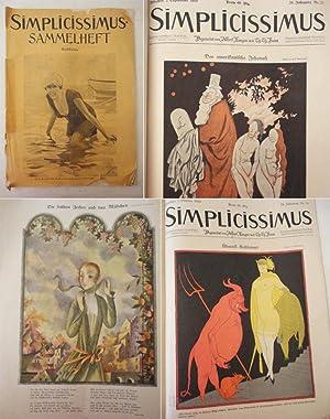 Konvolut Simplicissimus: Nr.2 / Beiblatt Nr. 2 / Nr. 6 / Nr. 17 / Nr. 23 /...