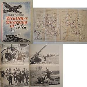 Deutscher Siegeszug in Polen. Mit zahlreichen Abbildungen auf Tafeln. Entwurf und Handzeichung der ...