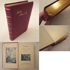 Faust, Zweiter Teil. Illustriert von Karl Storch * G A N Z L E D E R - V o r z u g s a u s g a b e:...