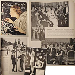 Elegante Welt. Weihnachtsheft Nr.26 / 1934, XXVII.Jahrgang: Kraemer, Paul (Herausgeber):