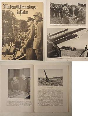 Mit dem XIII. Armeekorps in Polen. Ein Erinnerungsbuch. Ausgewählt, bearbeitet und ...