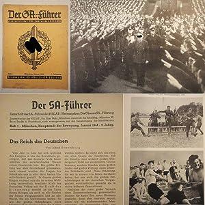 Der SA.-Führer. Zeitschrift der SA.-Führer der NSDAP.: Die Oberste SA.-Führung