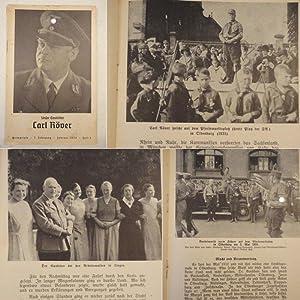 Unser Gauleiter Karl Röver. Heimatlese, 7.Jahrgang, Februar 1939, Heft 5: Gauamtsleiter Alfred...