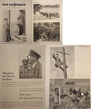 Der SA.-Führer. Zeitschrift der SA.-Führer der NSDAP. Heft 3 Mai 1936, 1.Jahrgang: Die ...