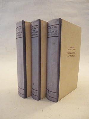 Dramatische Dichtungen, herausgegeben von Hermann Stresau * Band 1-3 (vollständig: Christian ...